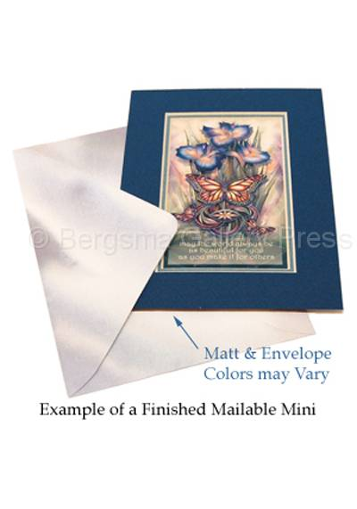 Example of a Finished Mailable Mini