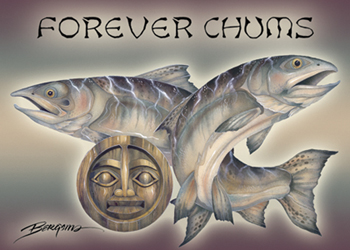 Forever Chums - Magnet