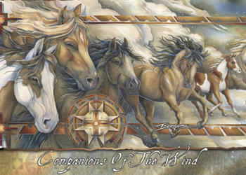 Companions Of The Wind - Magnet