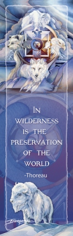 Multiple Animal Types /In Wilderness Is The Preservation Of The World - Bookmark