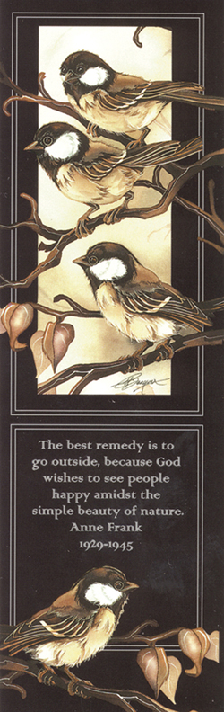 Misc. Small Birds / Out On A Limb - Bookmark