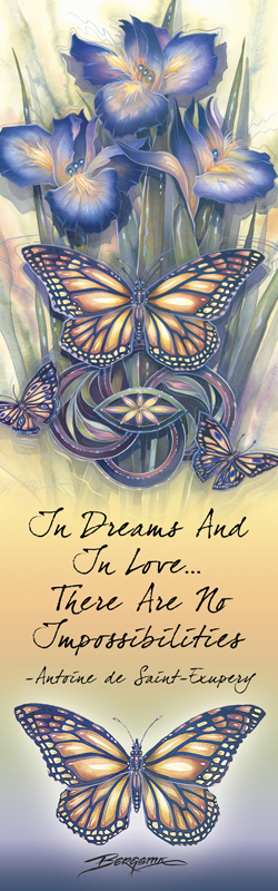 Butterflies / A New Day Has Come - Bookmark