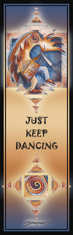 Native American / Just Keep Dancing... - Bookmark