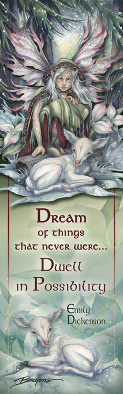 Faeries / Winter Magic - Bookmark