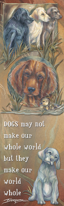 Dogs / Loyal, True & Kind - Bookmark