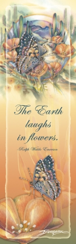 Butterflies / Bloom Where You Are Planted - Bookmark