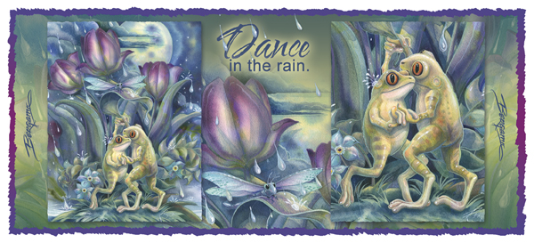 Dance in the Rain - Mug