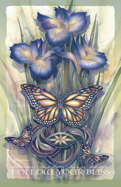 Butterflies / A New Day Has Come - 11 x 14 in Poster
