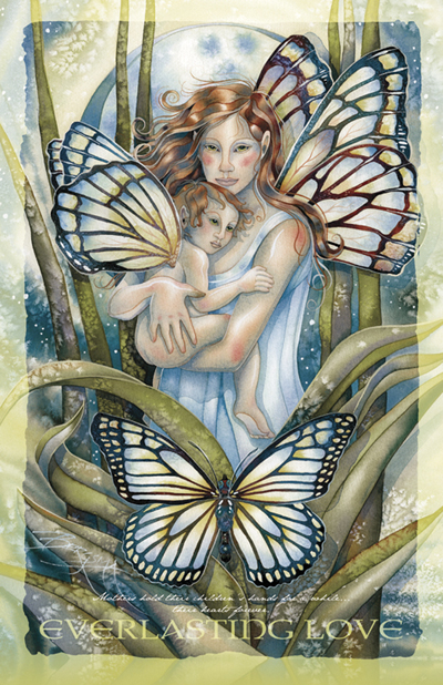 Faeries / I Will Love You Until The End Of Time - 11 x 14 in Poster