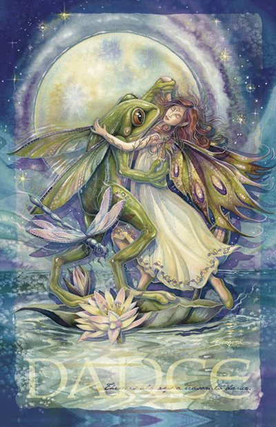 Faeries / There Is Always A Reason To Dance - 11 x 14 inch Poster