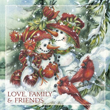 Love, Family, Friends - Tile