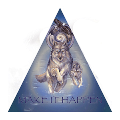 Wolves / The Power Of A Dream - Pyramid Card