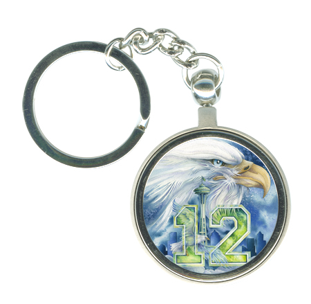 'Hawks Nation!' Key Chain