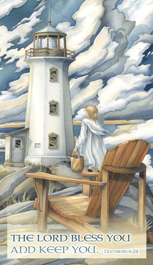 Lighthouses / Let Love Be The Light That Leads You Home - Mailable Mini