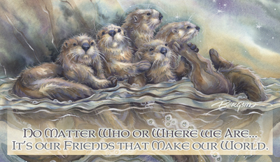 Otters / No Matter Who Or Where We Are... - Mailable Mini
