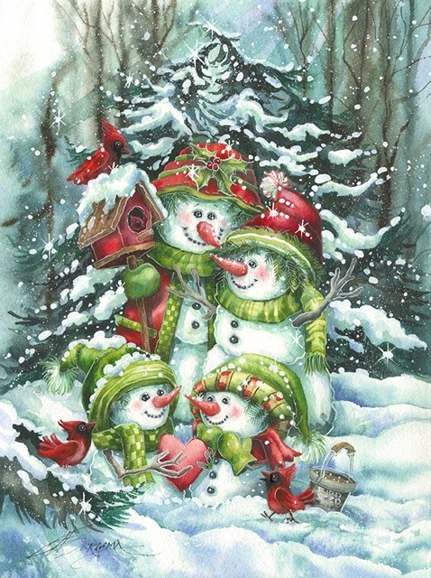'Share the Season...With Those Who Warm Your Heart' - 2016 Christmas Print