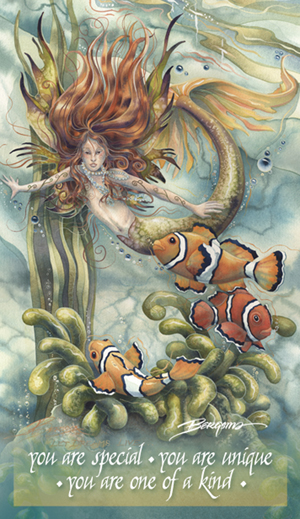 Mermaids & Sea Faeries / Let Dreams Live - Mailable Mini