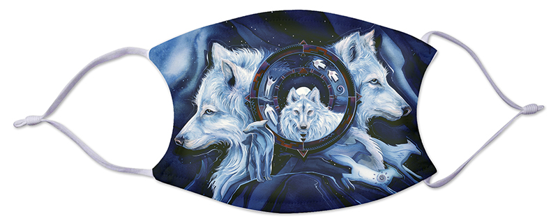 Face Mask - Wolves 519