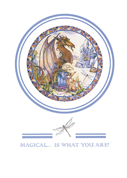Magical Is What You Are - Art Card