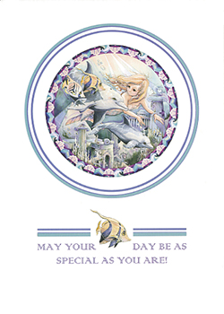 May Your Day Be As Special As You Are - Art Card