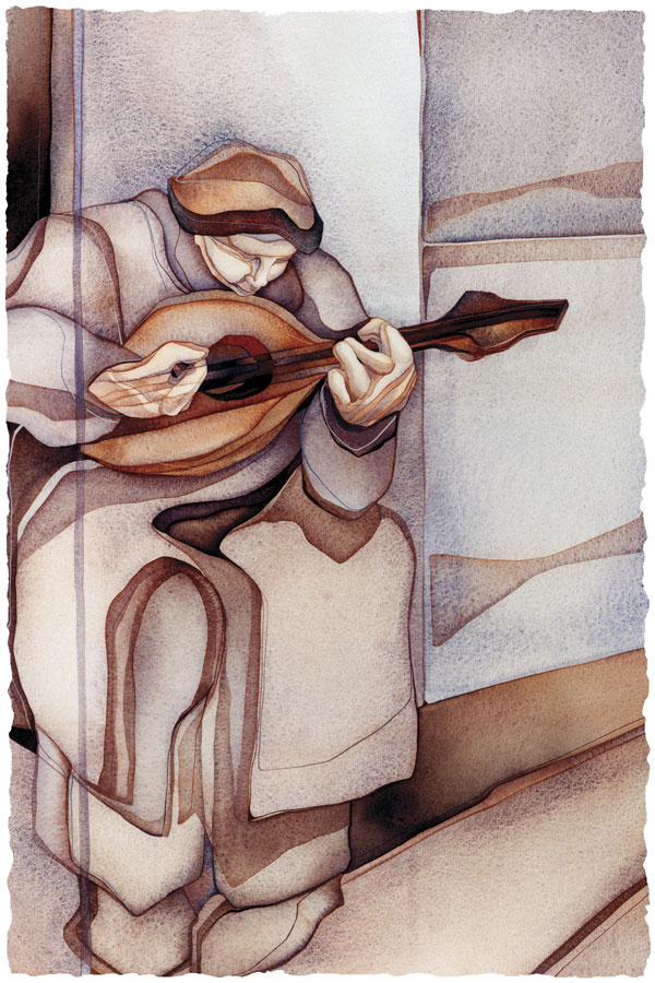 The Lute Player - Prints