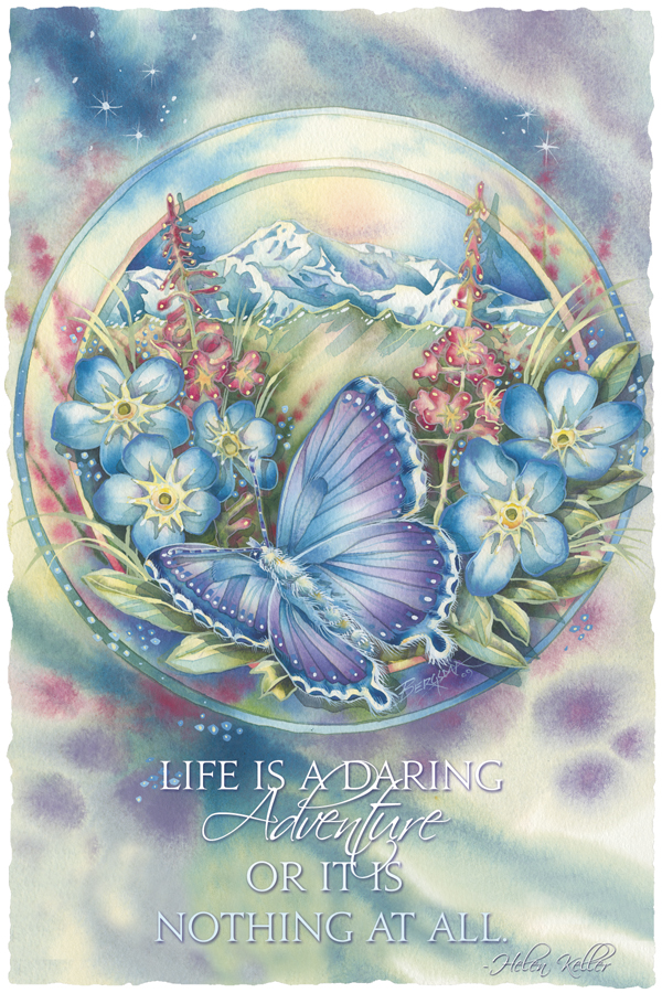 Life Is A Daring Adventure Or Nothing At All - Prints