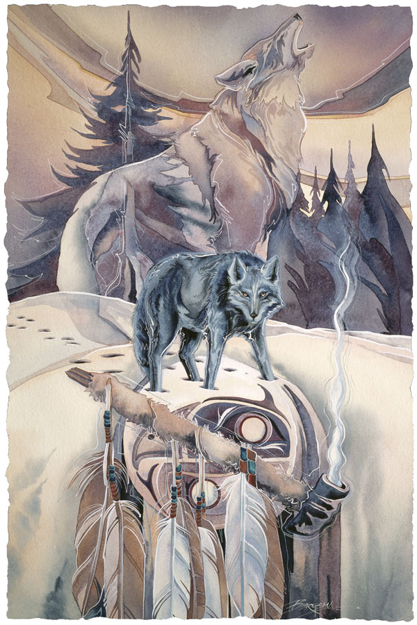 Ceremony For Black Wolf - Prints