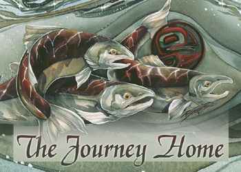 The Journey Home - Magnet