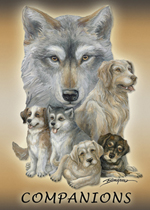 Dogs / Companions - Magnet