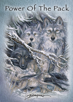 The Power Of The Pack - Magnet