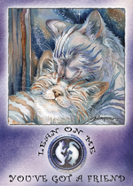 Cats / Lean On Me... - Magnet