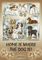 Dogs / It's A Doggy Dog World - Magnet