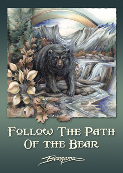 Follow the Path of the Bear - Magnet