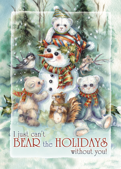 Bear Holidays - Magnet