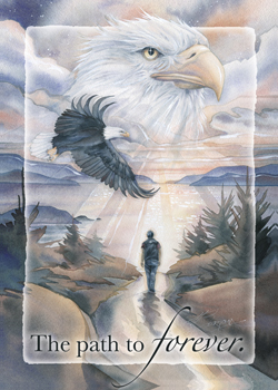 Eagles (Bald) / The Path to Forever - Magnet