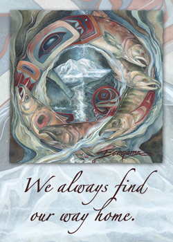We Always Find Our Way Home - Magnet