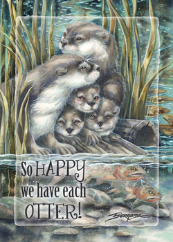 So Happy We Have Each Otter - Magnet