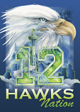 'Hawks Nation' Magnet