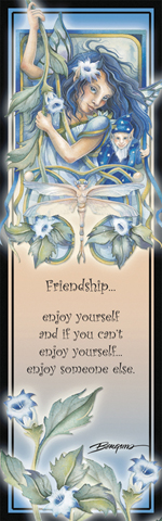 Faeries / Feel the Magic - Bookmark