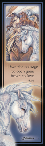 Horses / Fire In The Soul - Bookmark