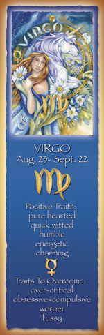Zodiac Series / Virgo - Bookmark
