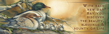 Ducks / A New Day Dawning - Bookmark