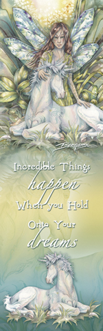 Faeries / Incredible Things Happen - Bookmark