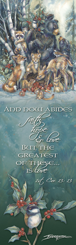 Multiple Animal Types / Celebrate The Season Of Peace - Bookmark