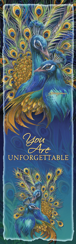 Peacocks / Blue Rhapsody - Bookmark