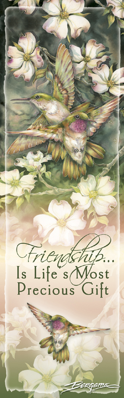 Hummingbirds / Friendship... - Bookmark