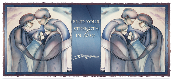 Find Your Strength In Love - Mug