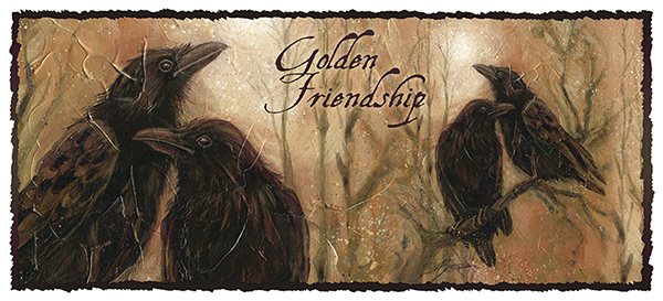 Golden friendship - Mug