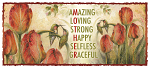 Amazing, Loving, Strong, Happy, Selfless, Graceful - 15oz. Ceramic Mug