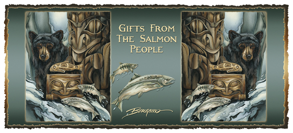 Gifts Of The Salmon People - Mug